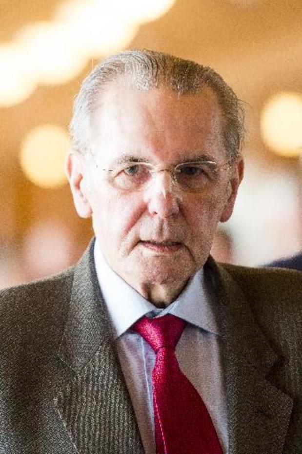 """Décès de Jacques Rogge - Le monde politique rend hommage à Jacques Rogge, """"homo universalis"""""""