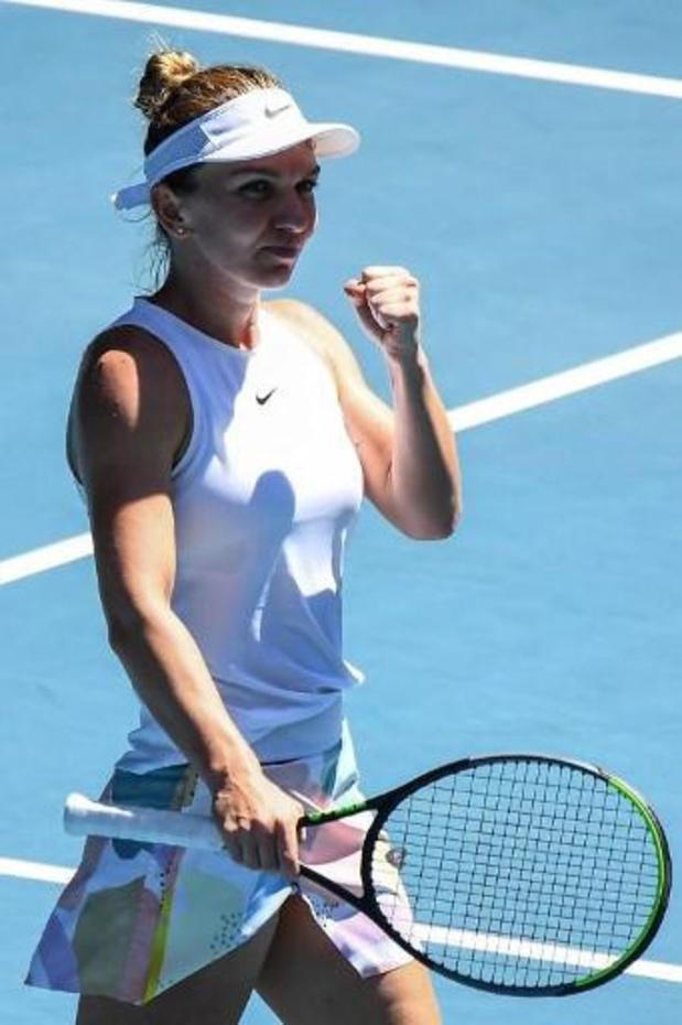"""Australian Open - Halep over komende tegenstandster, Elise Mertens: """"Ze geeft nooit op"""""""