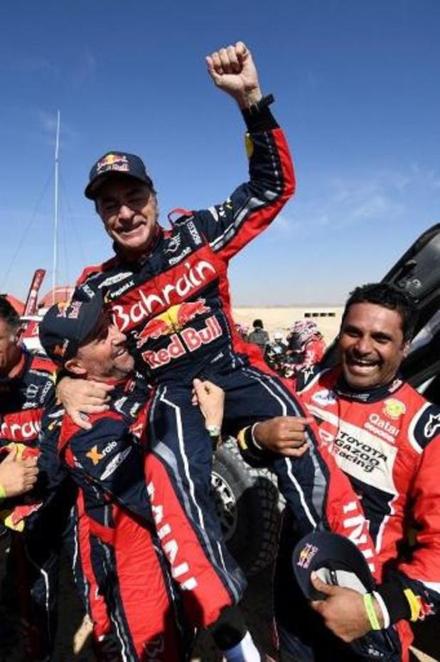 Carlos Sainz wint zijn derde Dakar