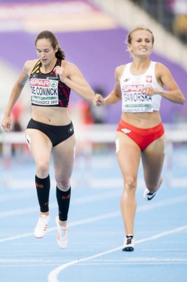 Championne d'Europe Espoirs en 2015, Nenah De Coninck s'arrête à 24 ans