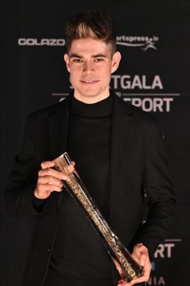 """Wout van Aert élu Sportif de l'Année: """"Le trophée individuel le plus prestigieux"""""""