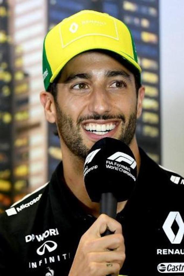 Ricciardo verlaat Renault en vervangt Sainz bij McLaren