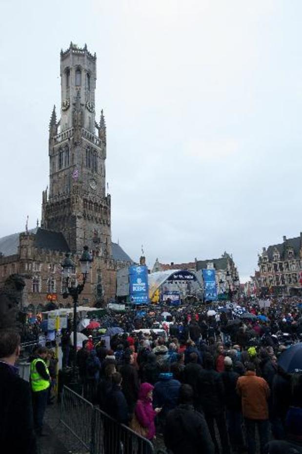 Bruges paiera 1,5 million d'euros pour obtenir trois départs du Tour des Flandres