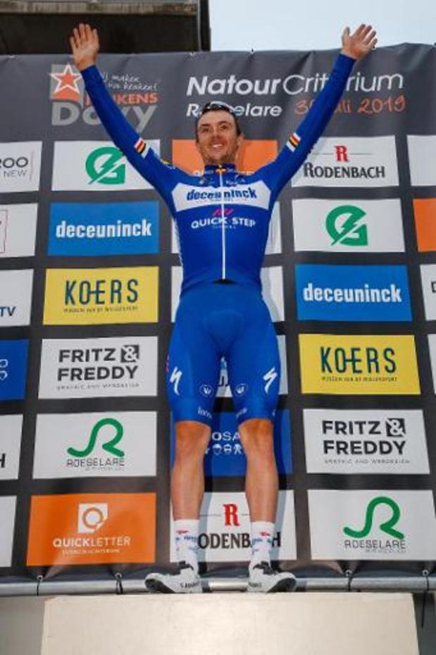 """Tour de Slovaquie - Yves Lampaert a pris """"énormément de confiance à une semaine des Mondiaux"""""""