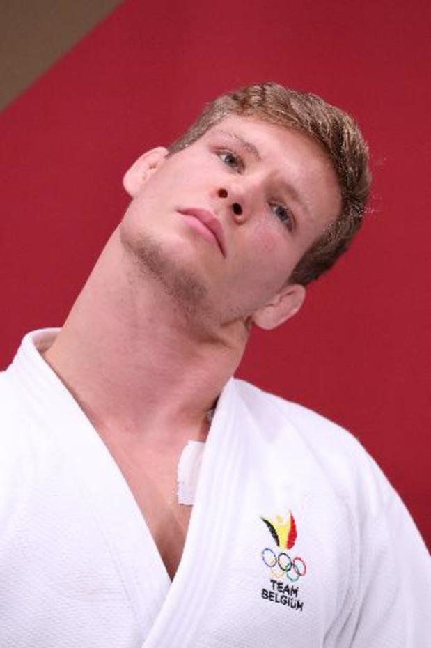 Judoka Matthias Casse verovert bronzen medaille