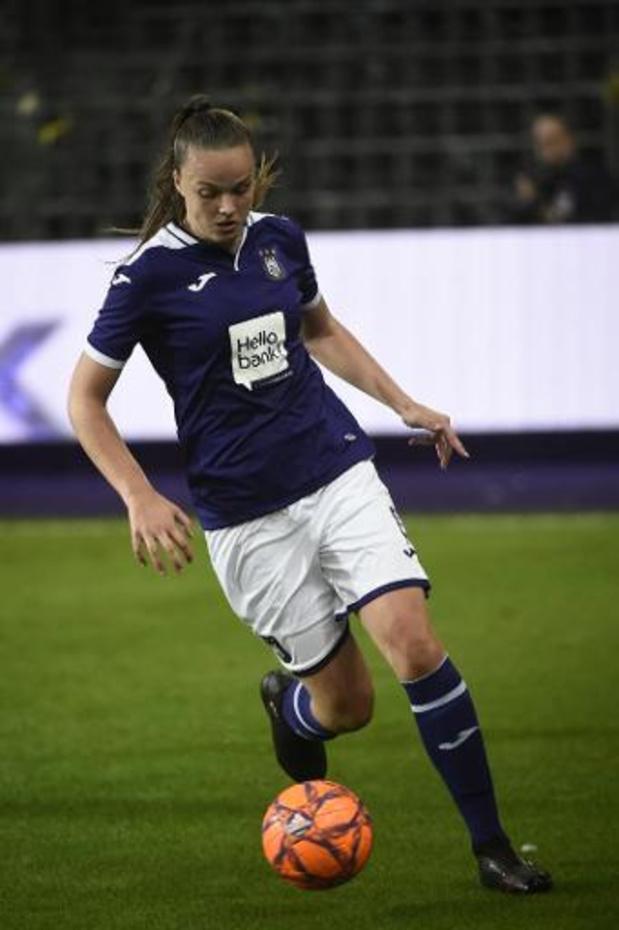 Vrouwenteams Anderlecht en Standard spelen finale Beker van België