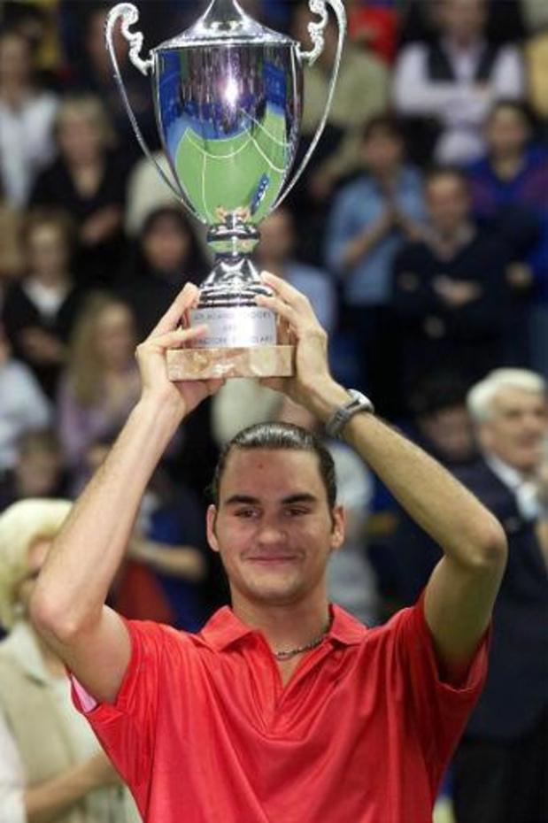 Il y a vingt ans Roger Federer remportait son premier tournoi ATP à Milan