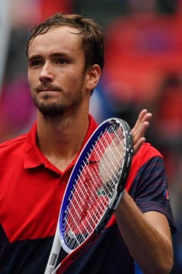 ATP Shanghai: Daniil Medvedev jouera sa sixième finale d'affilée