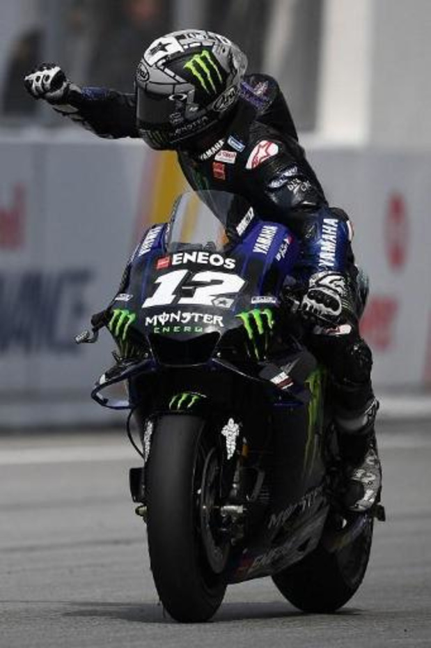 Maverick Vinales (Yamaha) prend sa revanche sur Marc Marquez (Honda) en Malaisie