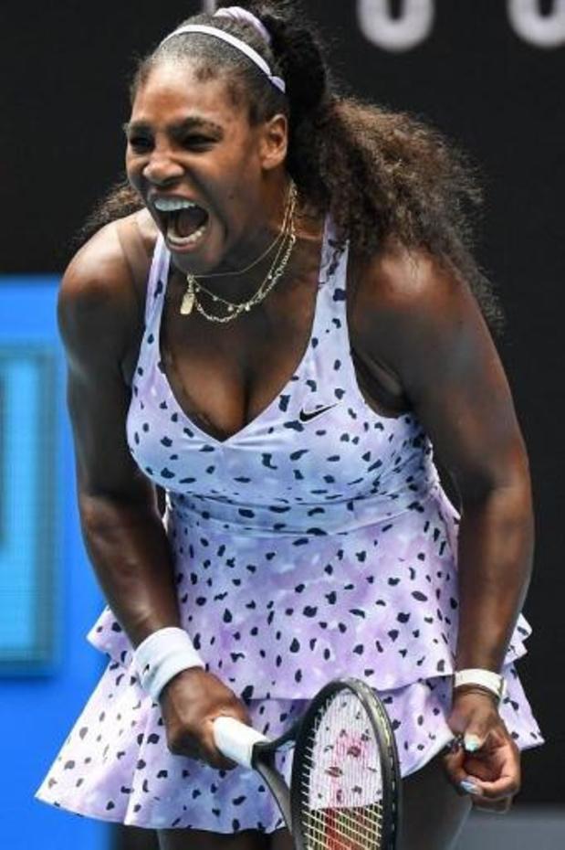 US Open - Serena Williams neemt revanche op Sakkari en bereikt kwartfinales