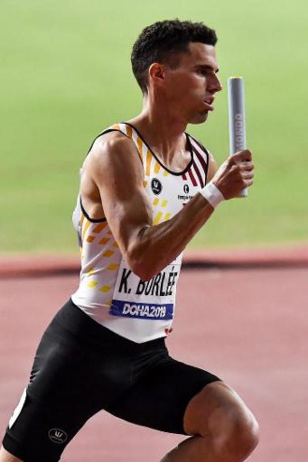 Mondiaux d'athlétisme - Les Belgian Tornados qualifiés pour la finale du 4x400 et pour les Jeux de Tokyo