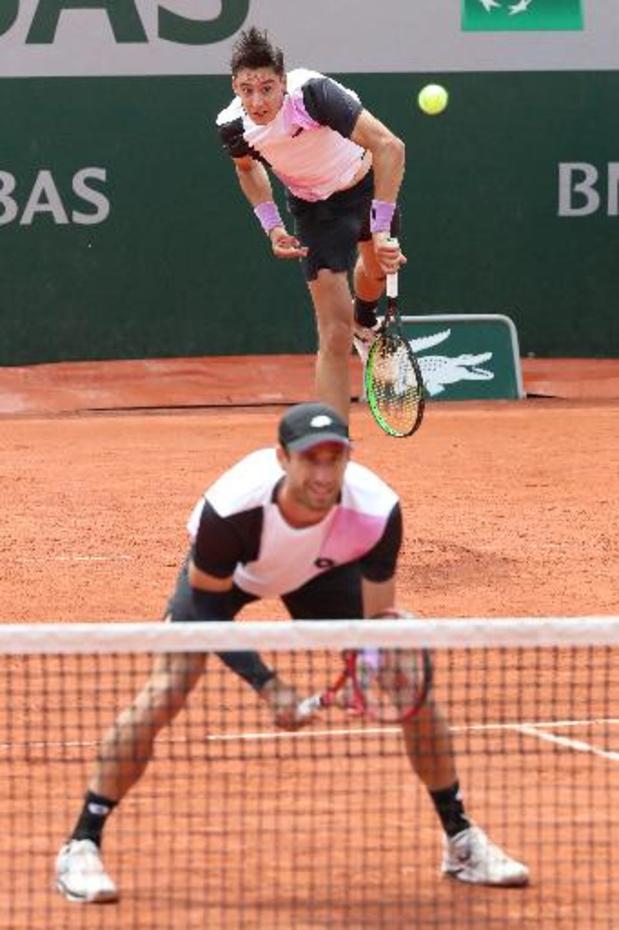 Roland Garros: Gillé en Vliegen nemen eerste horde