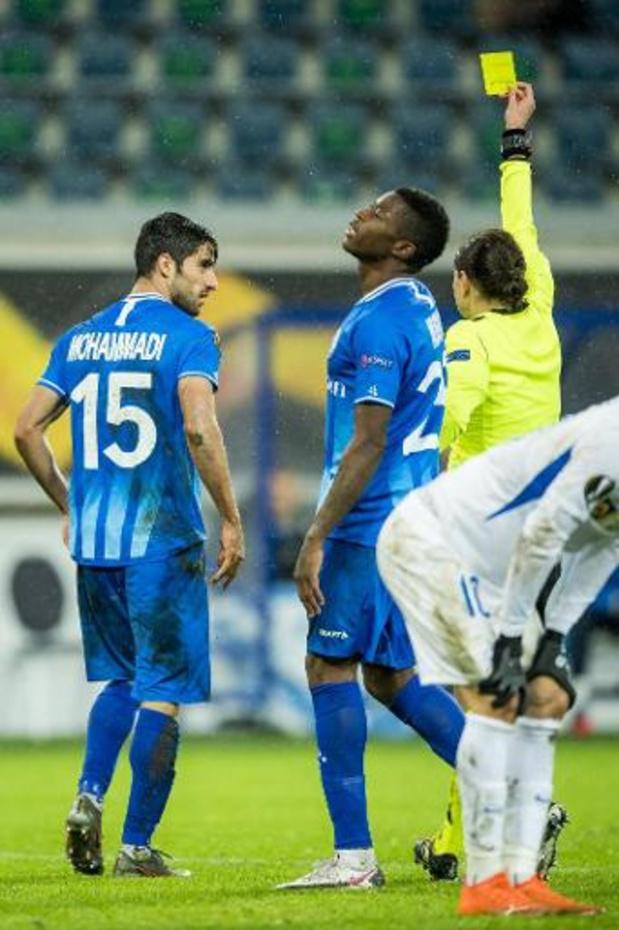 La série de défaites continue pour La Gantoise, battue par le Slovan Liberec