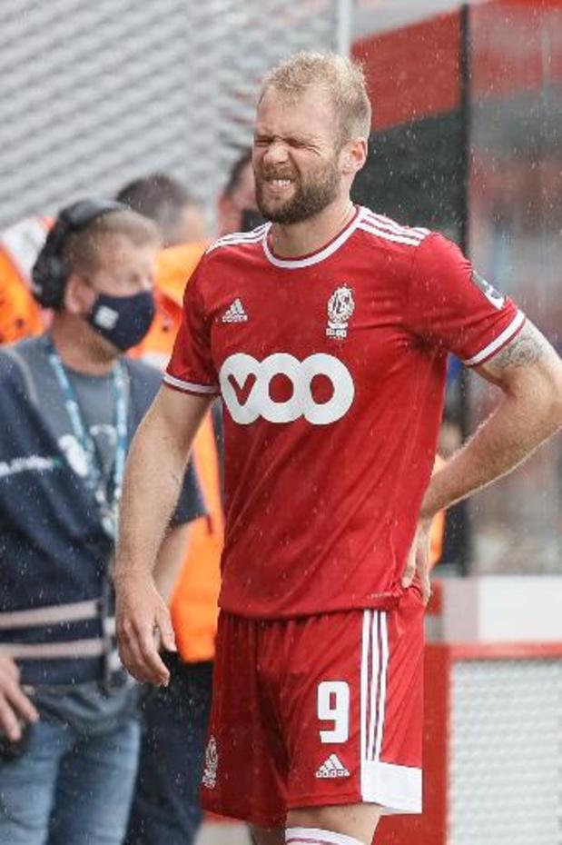 Michael Frey empile cinq goals au Standard, battu 2-5 par l'Antwerp