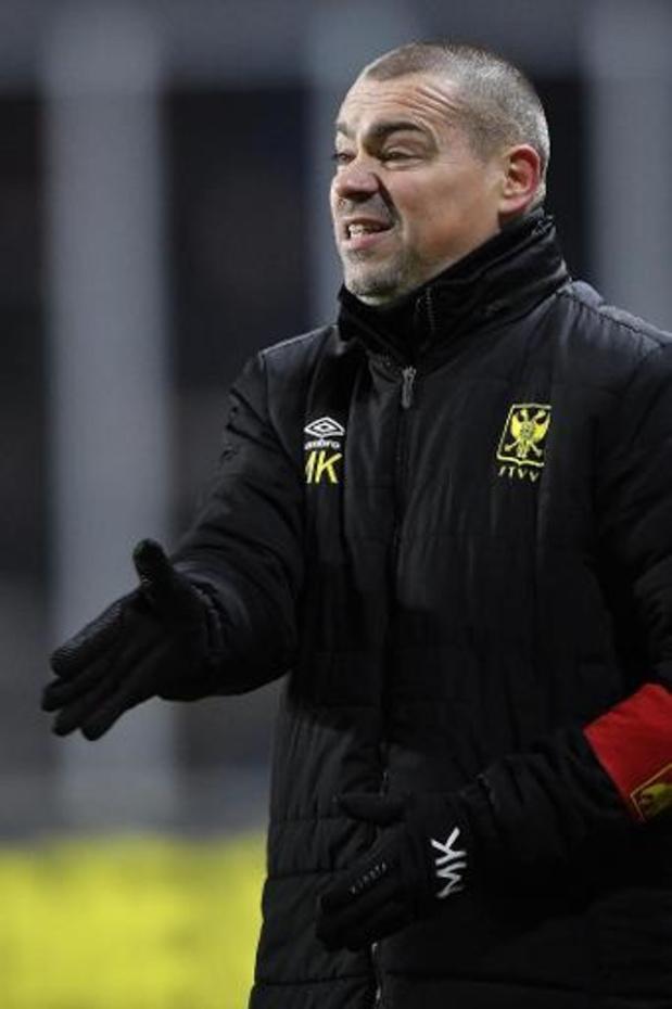 STVV stopt samenwerking met Sloveense coach Milos Kostic