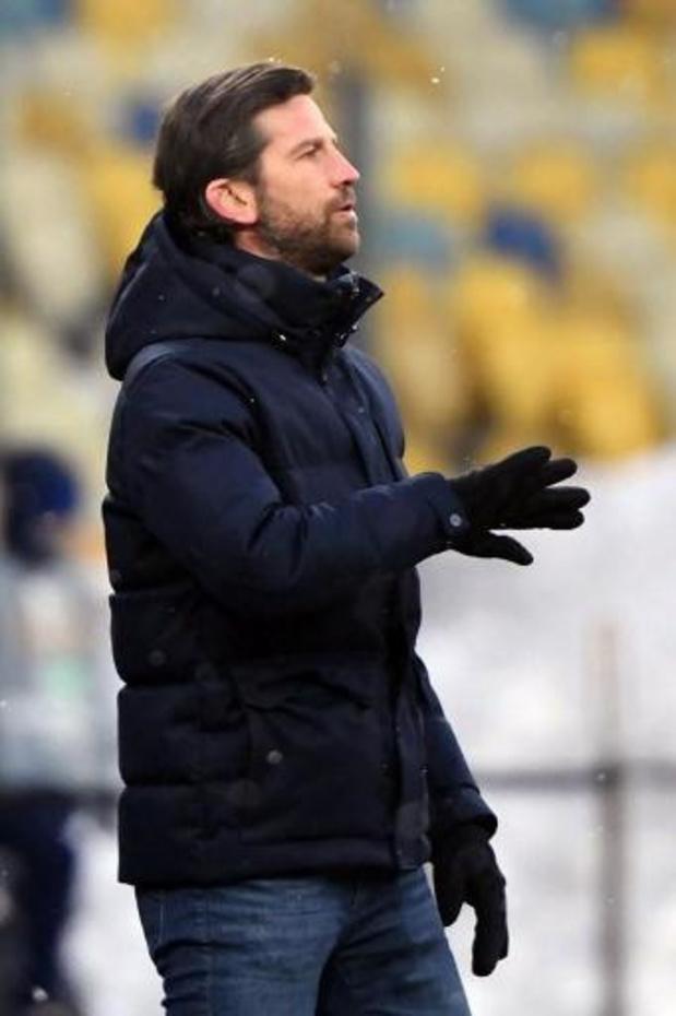 """Rik De Mil, entraîneur intérimaire de Bruges, ravi du but à l'extérieur """"très important"""""""