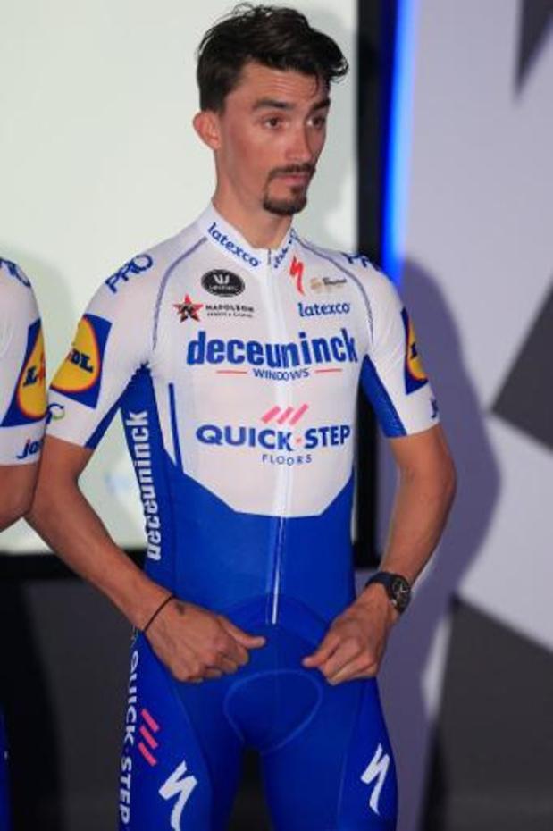 Julian Alaphilippe contraint à l'abandon avant la 3e étape