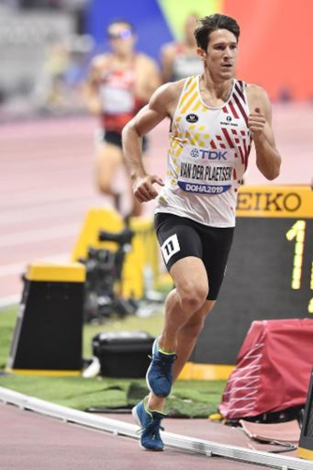 Mondiaux d'athlétisme - Thomas Van der Plaetsen termine 9e du décathlon qui sacre l'Allemand Niklas Kaul