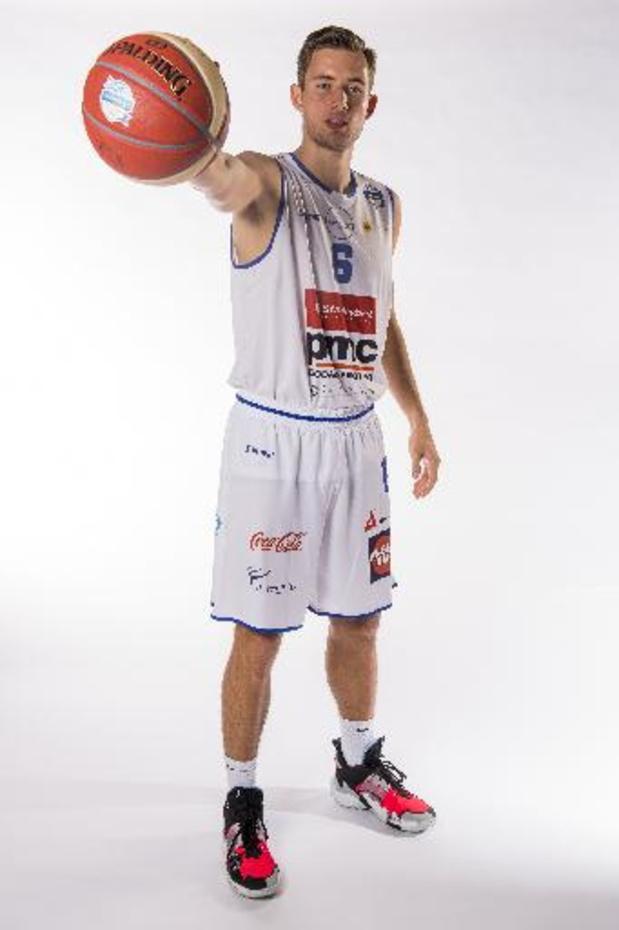 Le Malinois Bram Bogaerts rejoint Liège Basket