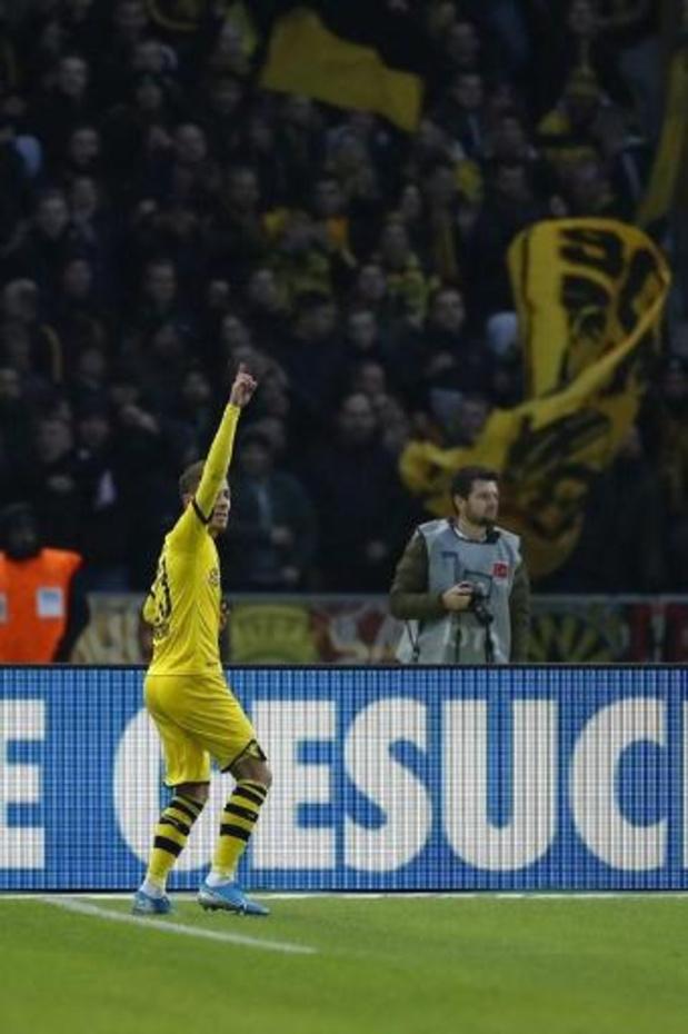 Thorgan Hazard buteur lors du succès de Dortmund à Berlin