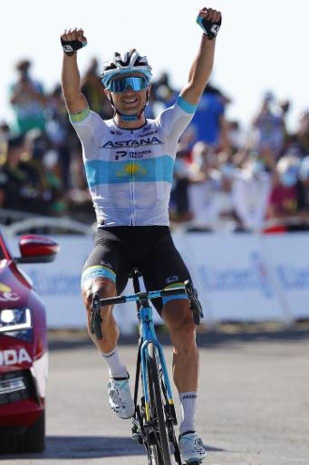 Le Kazakh Lutsenko (Astana) s'offre la 6e étape au sommet du Mont Aigoual, Van Avermaet 3e