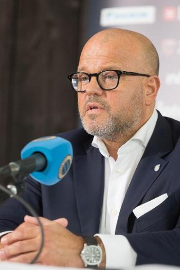 Le Club de Bruges fait pression pour une saison à 18 clubs et sans playoffs