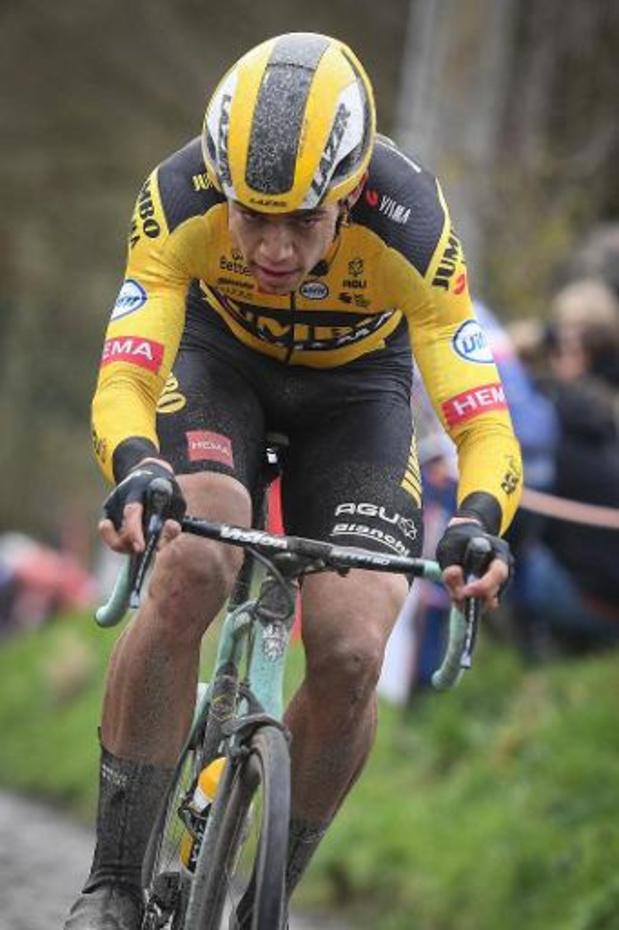 Wout van Aert sera le leader de Jumbo-Visma aux Strade Bianche