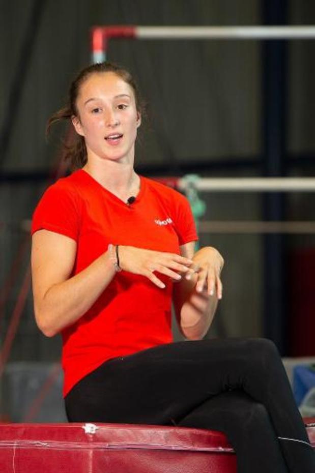 Nina Derwael test positief