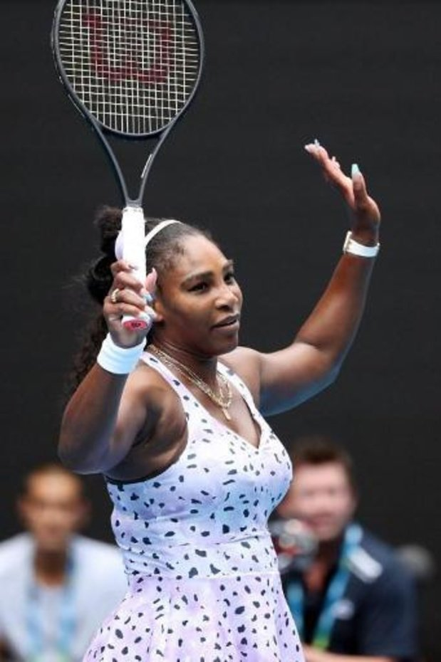 Serena Williams viert haar terugkeer op de courts in Kentucky