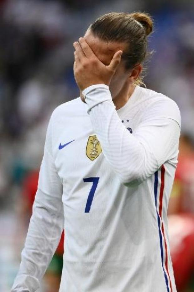 Griezmann et Benzema absents de l'entraînement à 5 jours de France-Allemagne