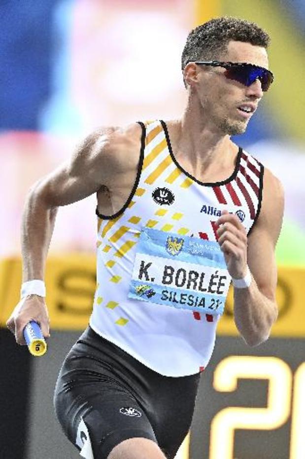 """Relais Mondiaux - """"Le plus important est l'objectif olympique de Tokyo"""", selon Kevin Borlée"""