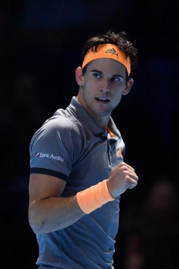 ATP Finals - Thiem verslaat Djokovic na marathonmatch