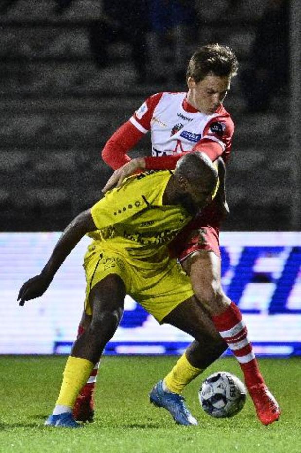 1B Pro League - Lierse Kempenzonen speelt gelijk tegen negenkoppig Moeskroen