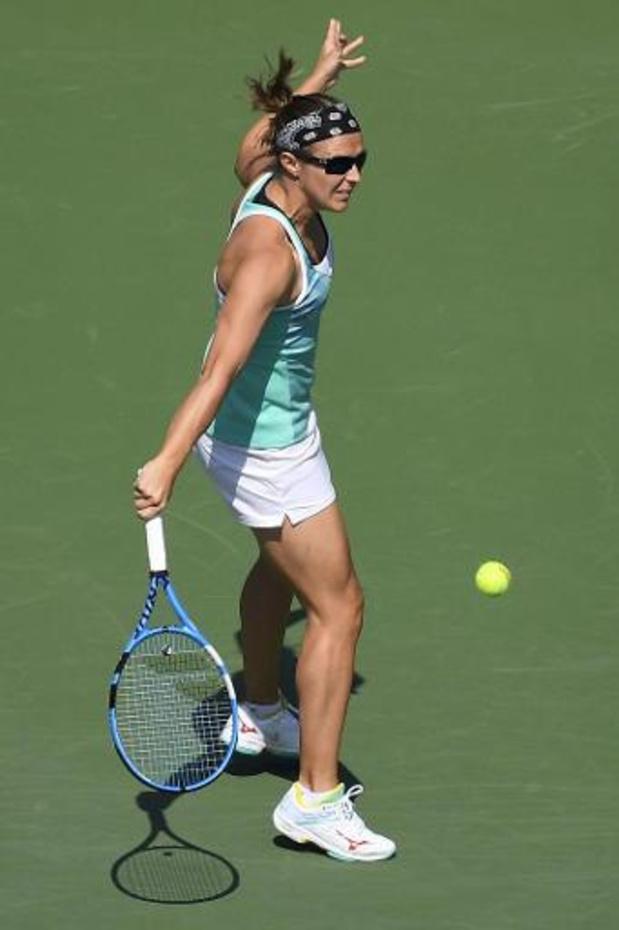 Kirsten Flipkens s'incline au 1er tour