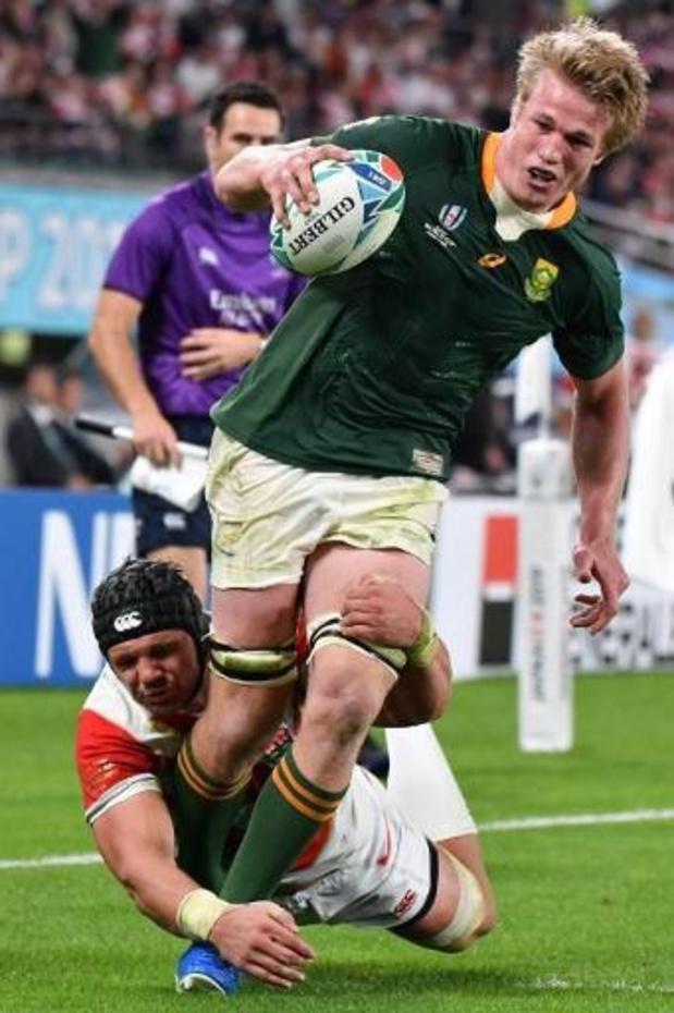Le Sud-Africain Pieter-Steph du Toit élu meilleur joueur du monde en 2019