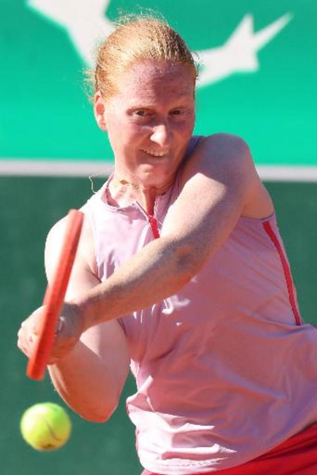 Alison Van Uytvanck éliminée en quarts de finale