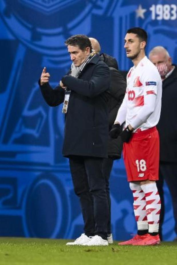 """Europa League - Philippe Montanier ne cherche """"aucune excuse"""" après la défaite du Standard à Poznan"""