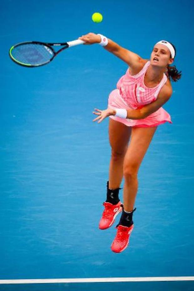 """WTA Lyon - Minnen, en quarts contre Golubic : """"Le Top 100 ? Je ne veux pas y penser"""""""