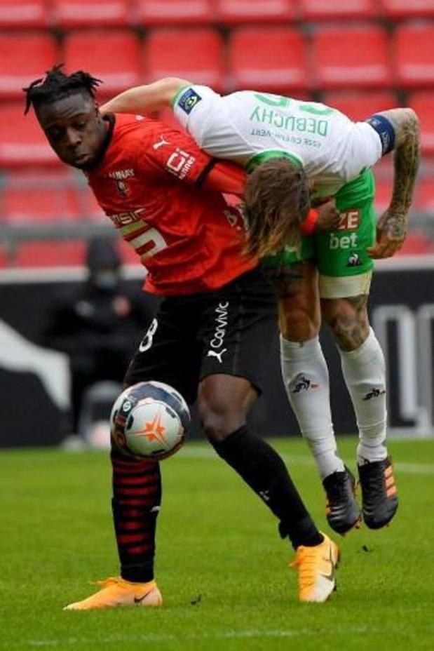 Les Belges à l'étranger - Doku battu par Saint-Etienne, défaite aussi pour Nainggolan