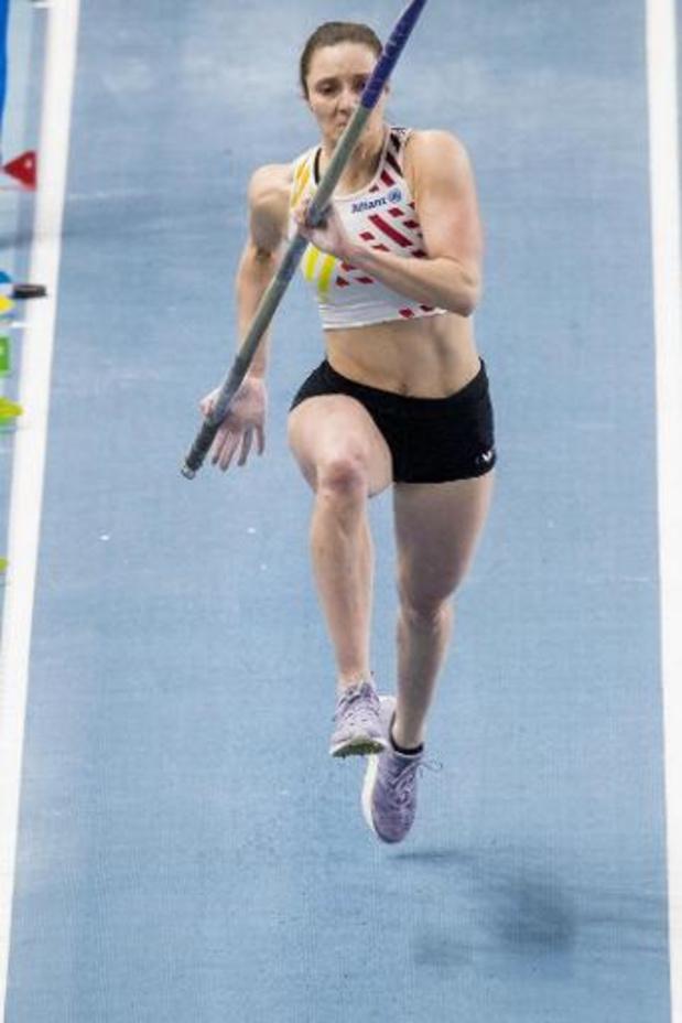 """Championnats d'Europe d'athlétisme en salle - Fanny Smets avec un double sentiment: """"Sans cette gêne je pouvais faire beaucoup mieux"""""""