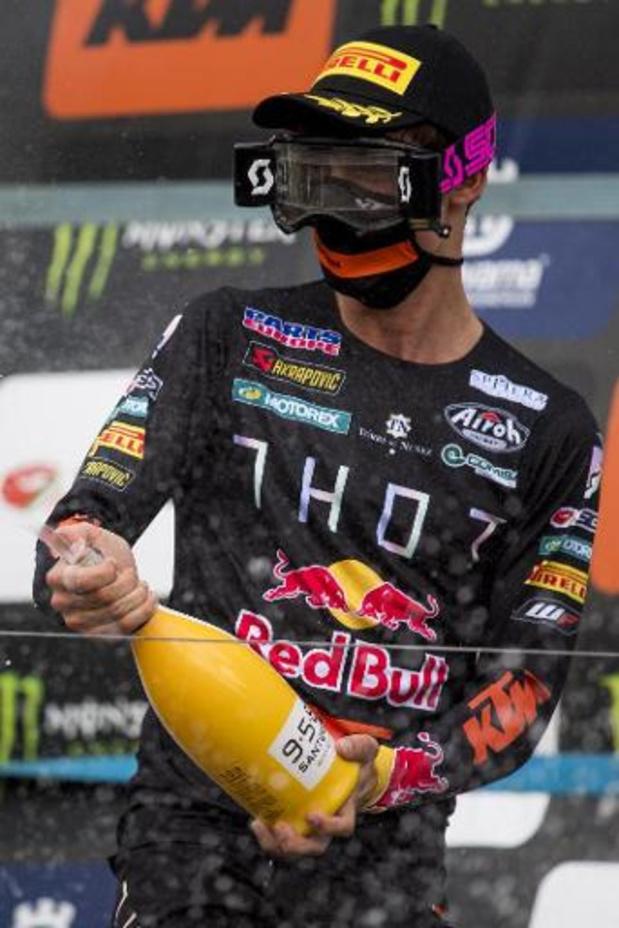 Jorge Prado wint in MXGP, Geerts wordt derde in MX2