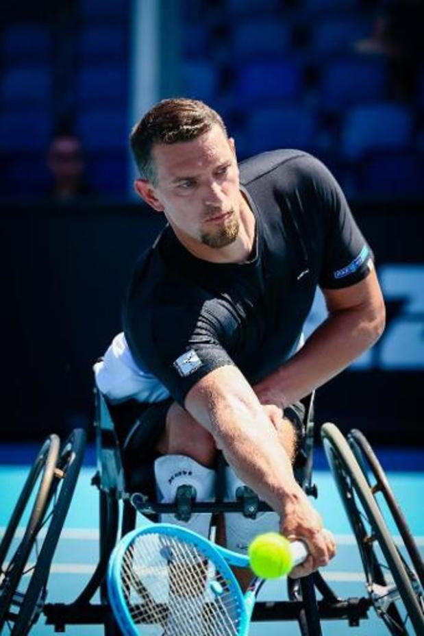 Open d'Australie - Joachim Gérard s'impose face à Stéphane Houdet et passe en demi-finale