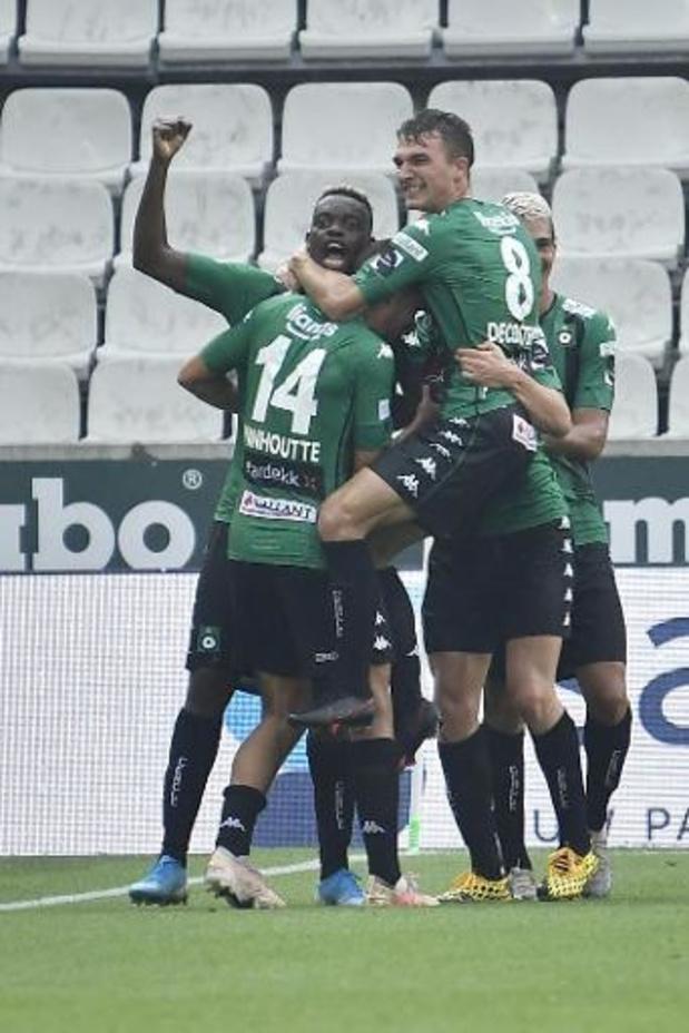 Le Cercle de Bruges bat l'Antwerp (2-1) et décroche sa première victoire de la saison