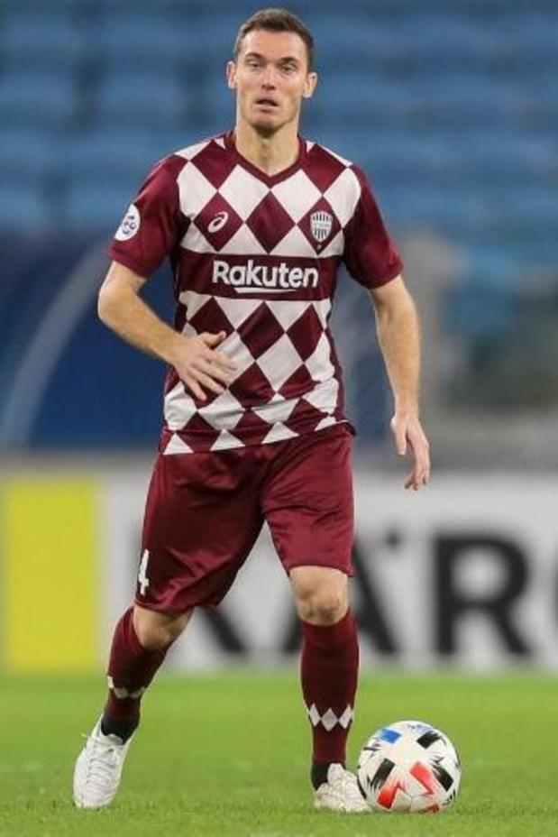 Les Belges à l'étranger - Thomas Vermaelen partage avec Vissel Kobe en J-League