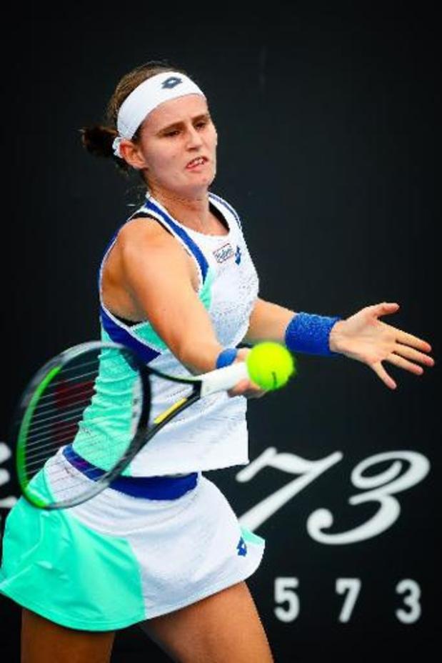 """Open d'Australie - Greet Minnen, qualifiée pour le tableau final : """"Fantastique !"""""""