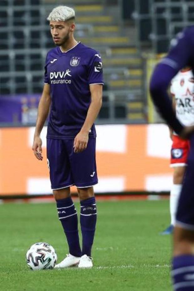 Anderlecht prête Antoine Colassin à Zulte Waregem