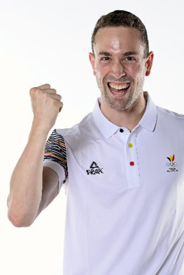 JO 2020 - Robin Vanderbemden se hisse en demi-finales du 200m