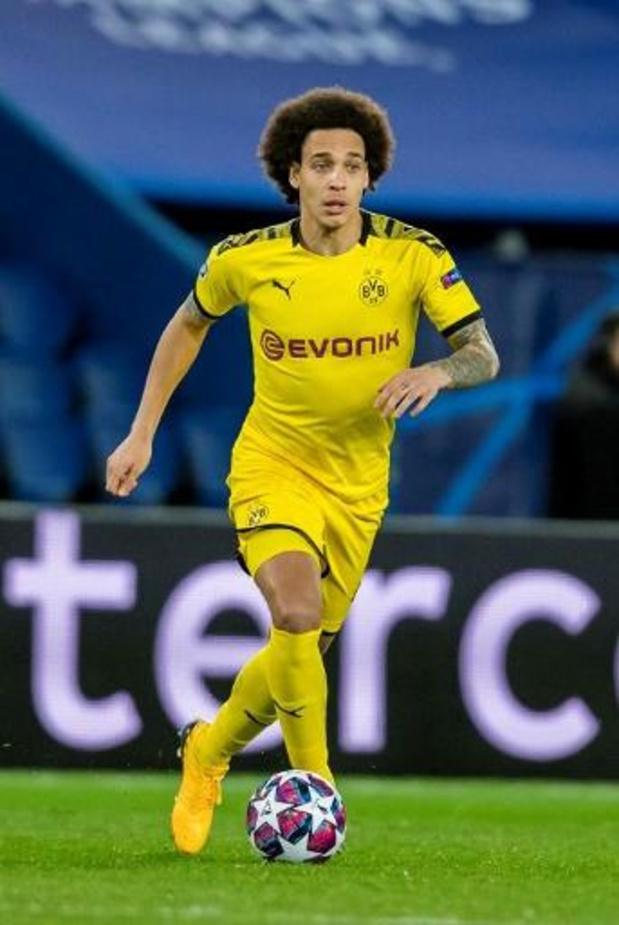 Dortmund sans Can ni Witsel pour la reprise du Championnat d'Allemagne
