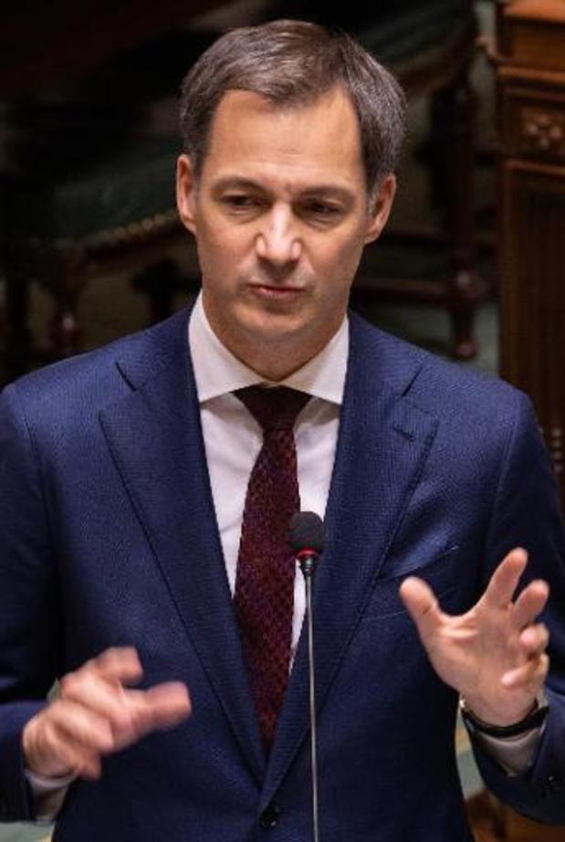 Alexander De Croo veut clarifier l'ambition climatique de la Belgique