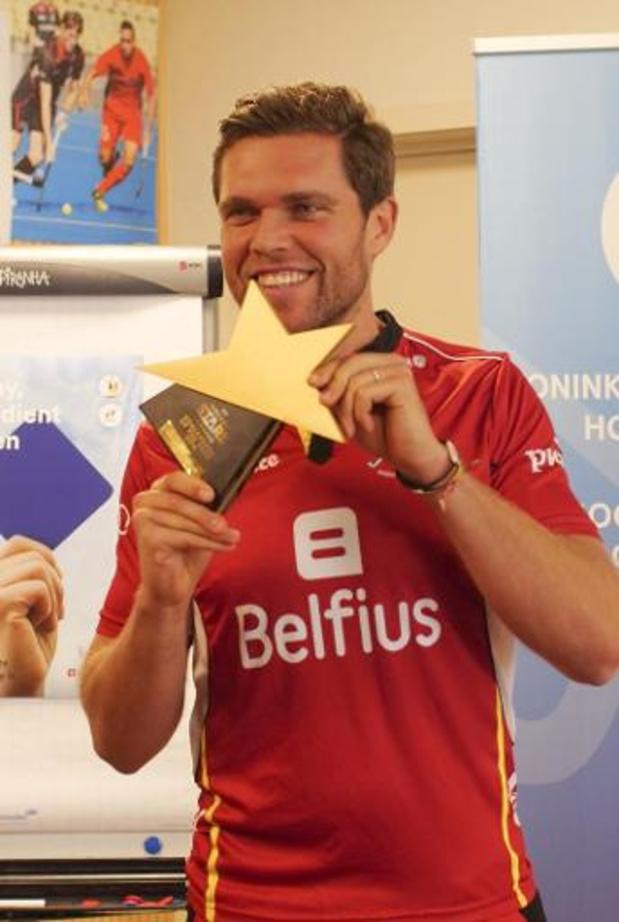 Vincent Vanasch Gardien de l'année pour la troisième fois de rang